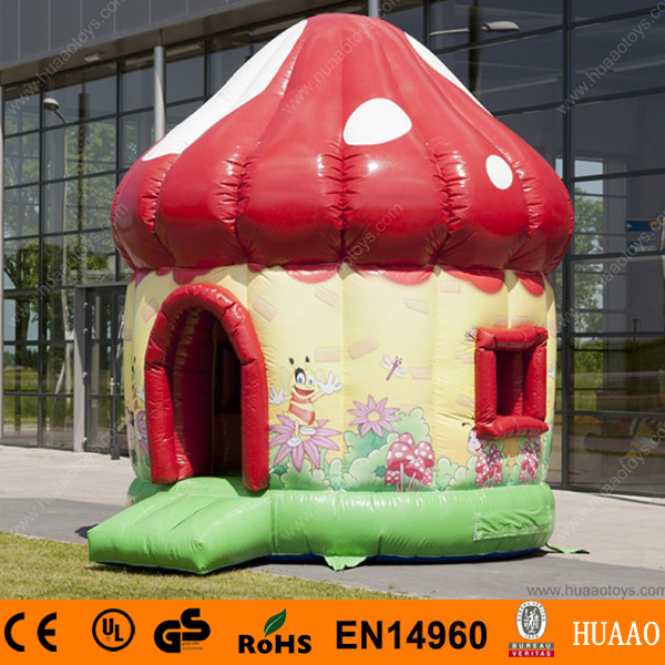 ФОТО free shipping mushroom bouncer  for sale with free ce blower