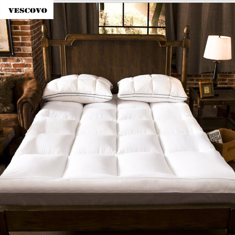 NEW Bed Twin Queen Size Thickening Folding Topper Bed Mattress Topper 150*200 120*200