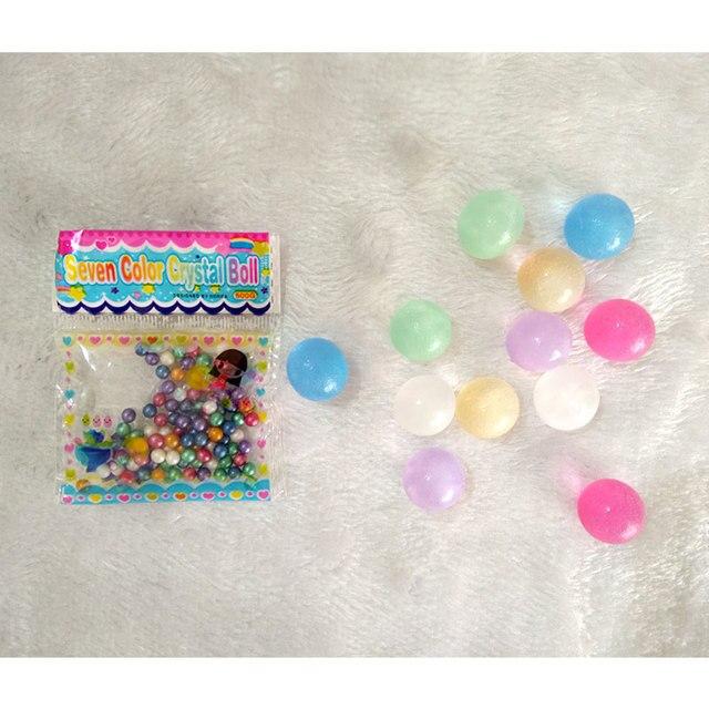 Boules de sol en cristal de perle 1000 pièces | Nouveau, Aqua Gel, gelée Orbiz, croissance dans des boules deau, pour plante florale, jouet décoratif de mariage