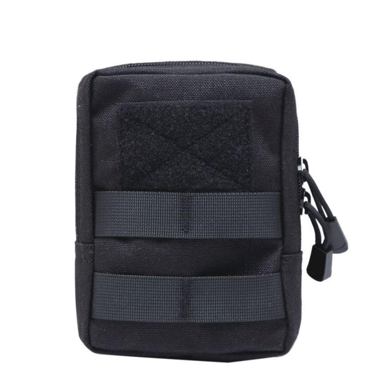 Multifonctionnel 1000D extérieur militaire tactique taille sac EDC Molle outil fermeture éclair taille Pack accessoire Durable ceinture pochette