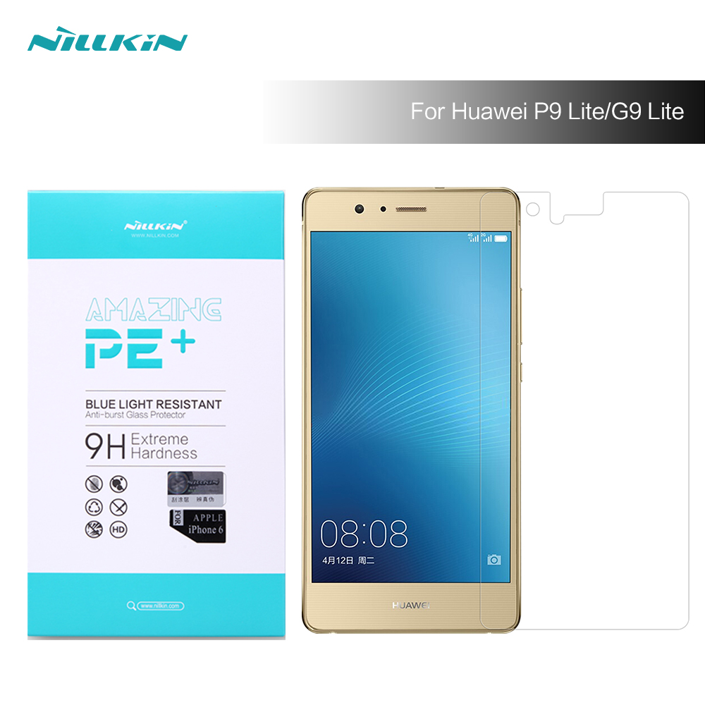 2017 Nillkin 9H hardness Amazing H H Pro Anti Explosion Tempered Glass Screen Protector For huawei