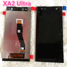 100% Original 6.0 for sony c8 lcd display with touch screen digitizer Assembly replacement parts Sony Xperia XA2 Ultra LCD все цены