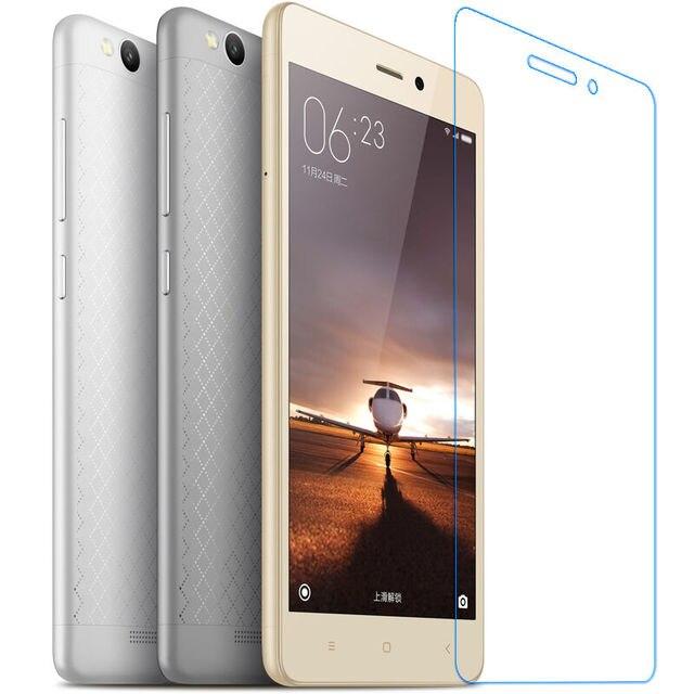 9 H vidrio templado Premium para Xiaomi Redmi 3 S película protectora de pantalla para Xaomi Xiomi Redmi 3 s pro 3 S Hongmi 3X de vidrio