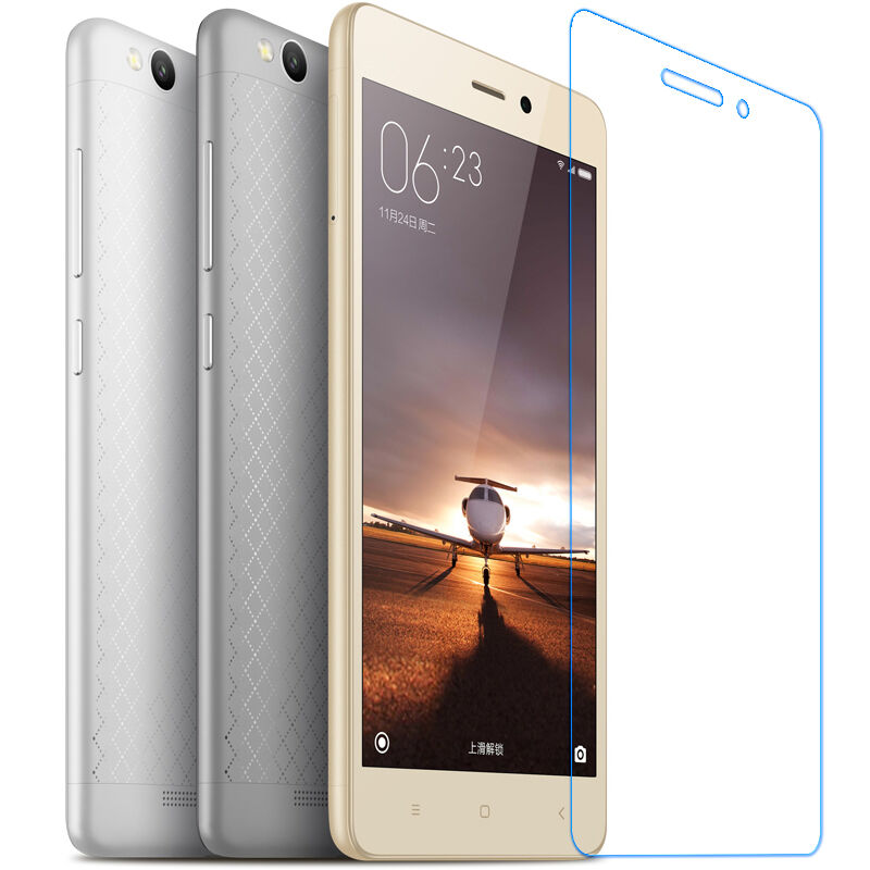 9H Premium Tempered Glass For Xiaomi Redmi 3S Screen Protector Protective Film For Xaomi Xiomi Redmi 3s Pro 3 S Hongmi 3X Glass