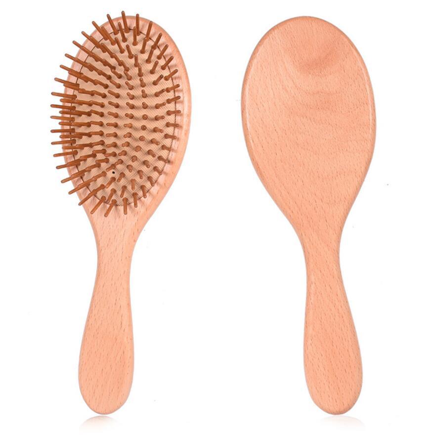 Cepillo de madera para el cabello Madera, cuidado del cabello y - Cuidado del cabello y estilo