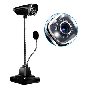 M800 USB 2.0 Wired Webcams PC Laptop 12 Million Pixel Video Camera Adjustable Angle HD LED Night Vision With Microphone