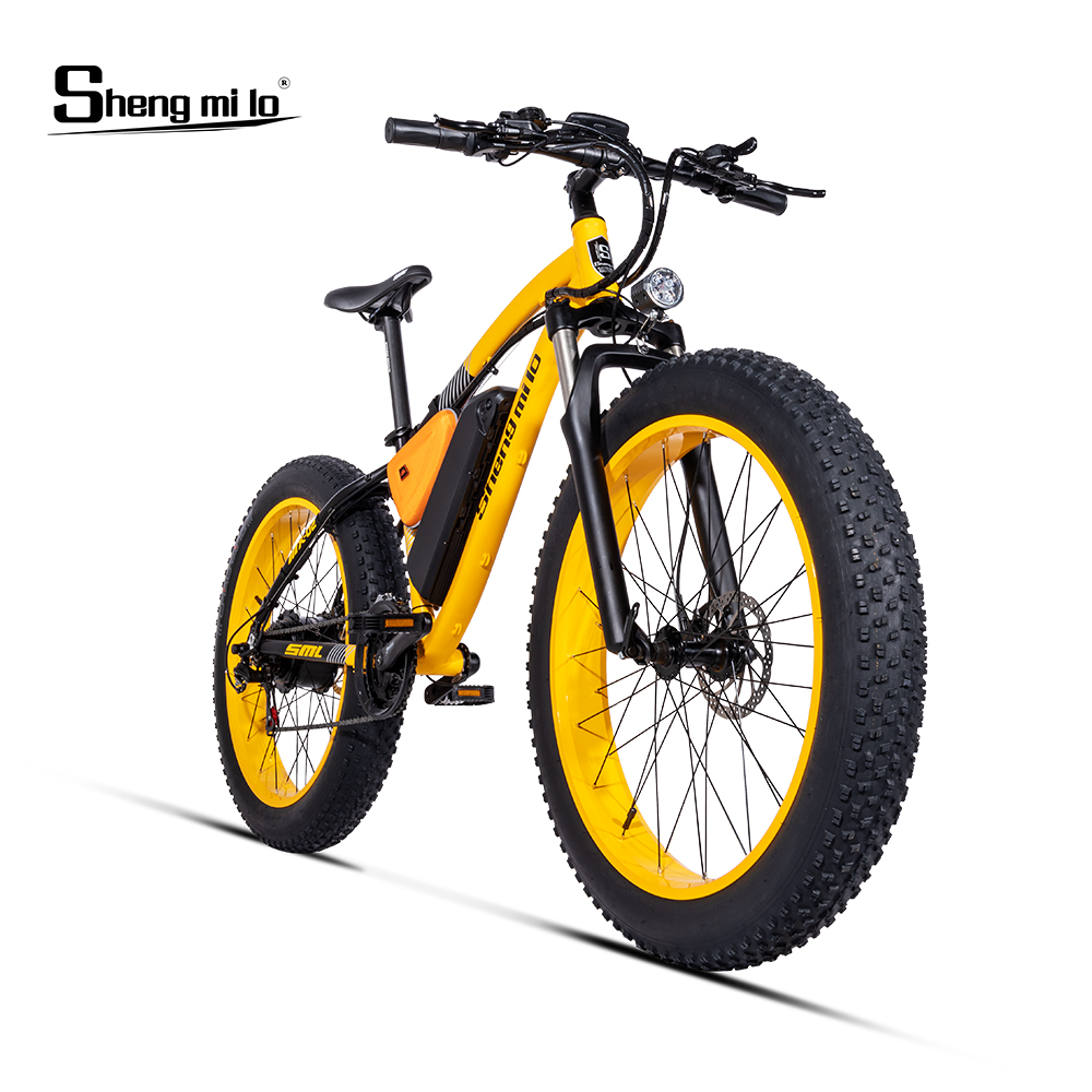 Electric bike 1000W Electric Fat Bike Beach Bike Cruiser Electric Bicycle 48V17AH lithium battery ebike electric mountain bike