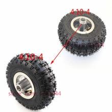 4,10-4 410-4 4,10x4 410x4 колеса 4,10-4 шины внутренняя труба и 4 дюйма литые диски подходят ATV Quad Go Kart 47cc 49cc внедорожные