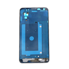 New Original Silver Front Housing Bezel Front frame For Galaxy NOTE3 N9005 Free Shipping