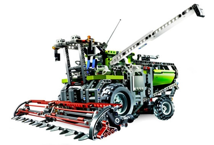 20041 LEPIN City Technic 2 In 1 The Combine Harvester Model Building Blocks Compatible 8274 Enlighten Figure Toys For Children конструктор lego technic combine harvester 8274