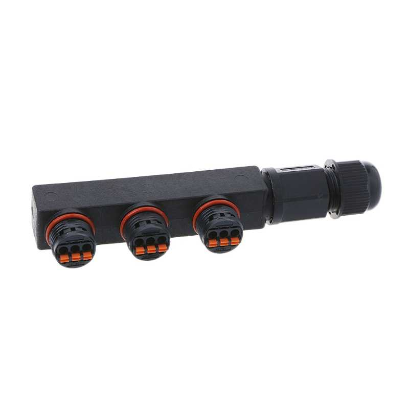 IP68 wodoodporna wkrętarka elektryczna złącze wtykowe Adapter drutu 2 Pin 3 Pin