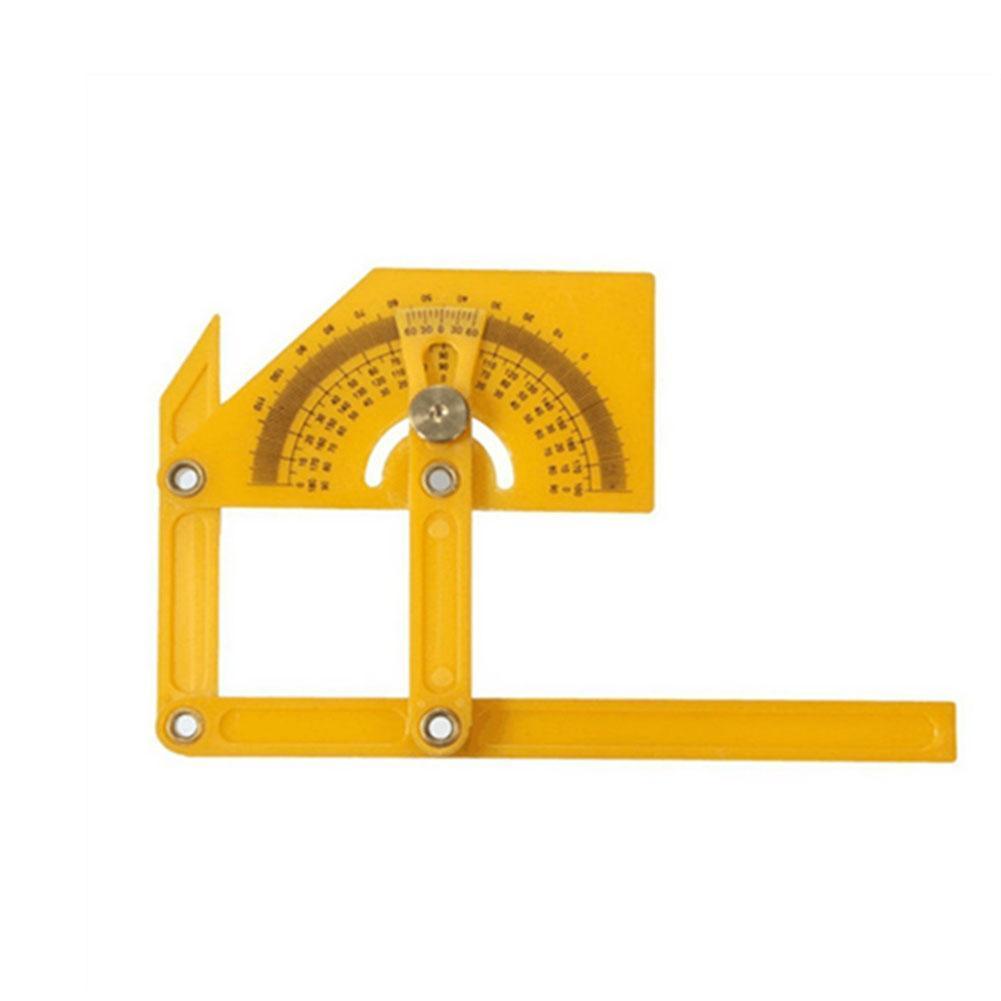 Calibration Protractor Finder Angle Finder Miter Gauge Goniometer Angle Finder Miter Gauge Arm Measuring Ruler