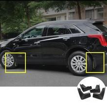 Для Cadillac XT5 Черный Брызговики Брызговики 2016 2017 4 шт.