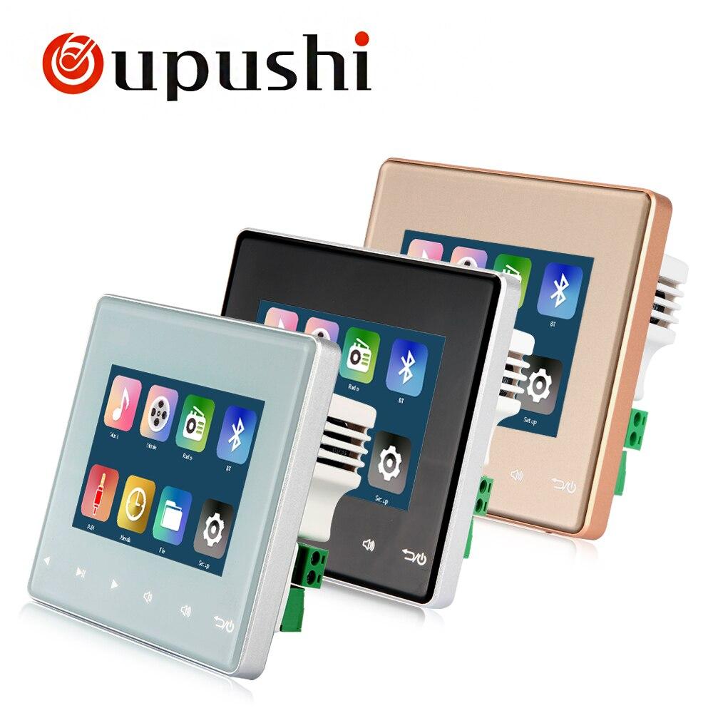 OUPUSHI A3 Mur home cinéma mini système mur amplificateur avec Bluetooth SD USB socket