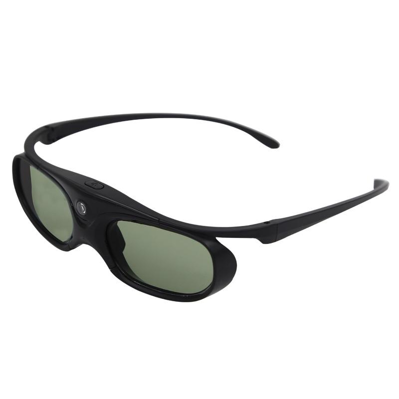Obturador activo recargable 3D gafas apoyo 96/120/144 HZ para Xgimi Z3/Z4/Z6/ h1/H2 loco G1/P2 BenQ Acer y proyector DLP LINK
