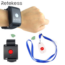 Wireless Paging System SOS Emergency Calling for Patient the Elderly Kids Nursing home F4447A