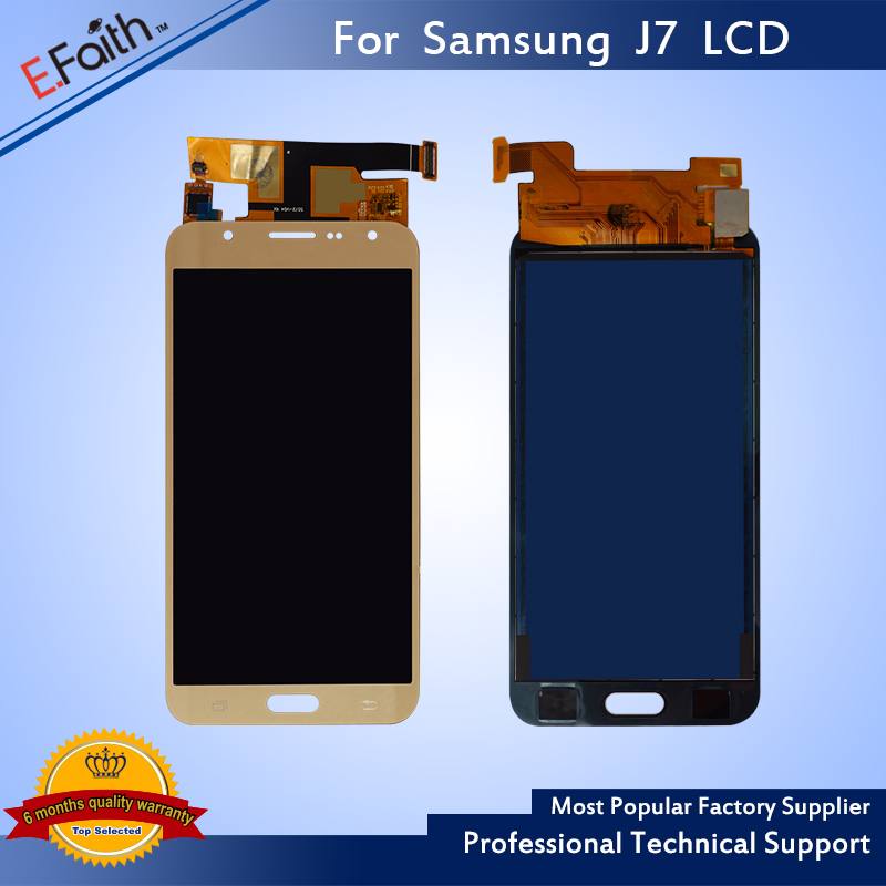 imágenes para 1 UNIDS Nueva Alta Calidad Para Samsung Galaxy J7 GRAN MURALLA J700M J700H Pantalla Lcd Con Digitalizador de Pantalla Táctil Para Samsung Pantalla Lcd J7