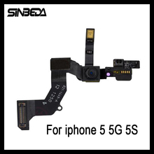 Sinbeda Front Camera Cam Proximity Motion Sensor Light Flex Cable For iphone 5 5G 5S 5C Replacement Part