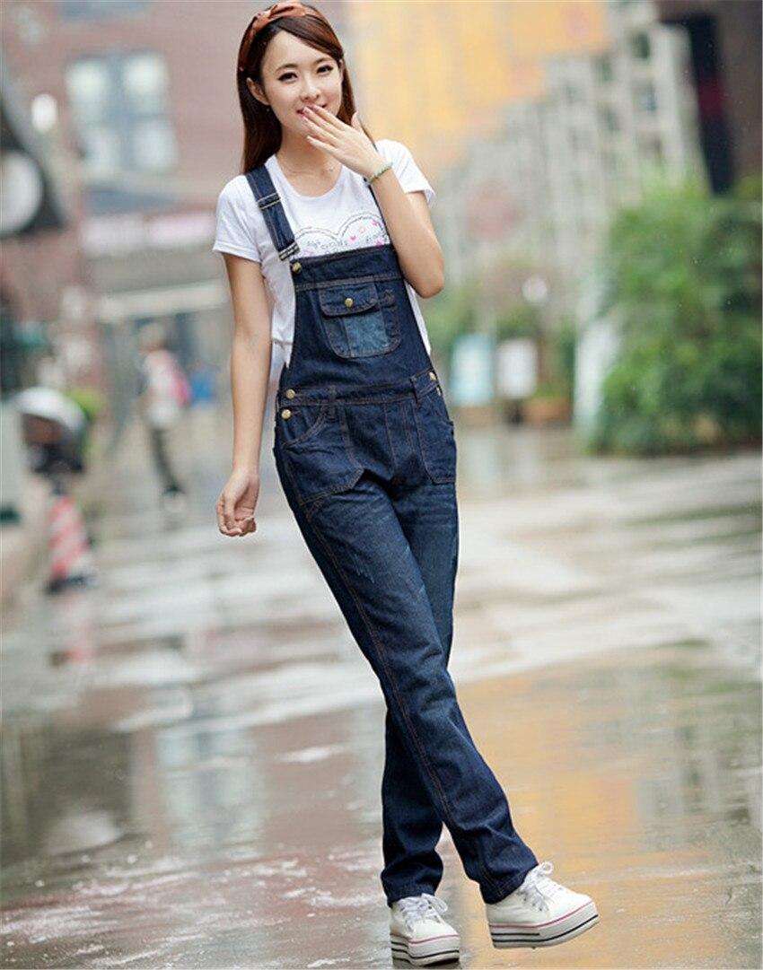 Aliexpress.com : Buy 2015 New Women Denim Jumpsuit Fashion Ladies ...