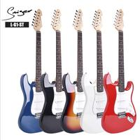 Classic ST electric guitar beginner L G1 single shake three single electric guitar splicing body electric guitar wholesale