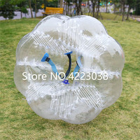 Free Shipping Air Bubble Soccer 0.8mm TPU 1.5m Air Bumper Ball Body Zorb Bubble Ball Football Bubble Soccer ZorbBall For Sale
