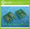 O ENVIO GRATUITO de 80 PÇS/LOTE SO8 MSOP8 SOIC8 TSSOP8 SOP8 transformar DIP8 IC adaptador de Tomada Adaptador de placa PCB PB-FREE sem Pin cabeçalho