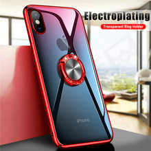 luxury Car magnetic anti-drop mobile cover case for iphone X 6 6s 7 8 7 PLUS 8 P