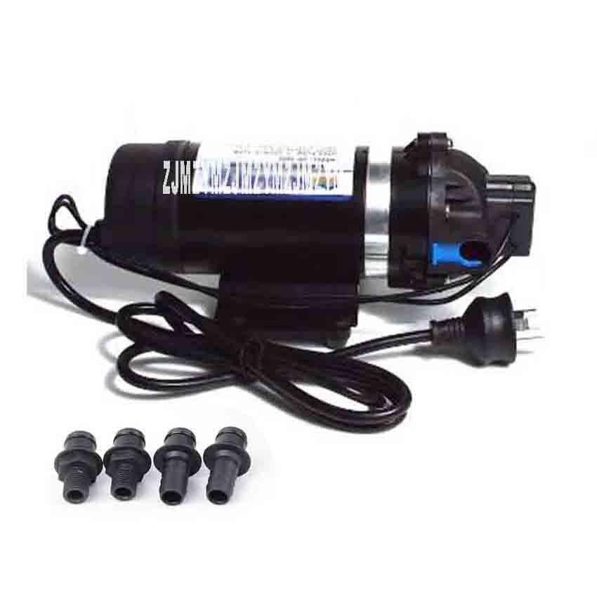 DP-160S High-pressure Spray Pump Electric Diaphragm Pump Reciprocating Self-priming Pump Water Purifier Booster Pump 110V/220V the reciprocating pump