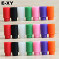 E-XY 20pcs 510 silicone disposable drip tips Test Drip Tips Mouthpiece Individually Package 7 colors for optional