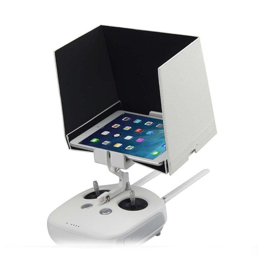 "7/"" Anti-dust Sun Hood+Extender for FPV iPad mini Android DJI Inspire 1 Phantom 3"