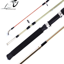 ANZHENJI 2018 Fiberglass Lure Fishing Rod Solid 1.5m 1.8m hard Catch Big Fish