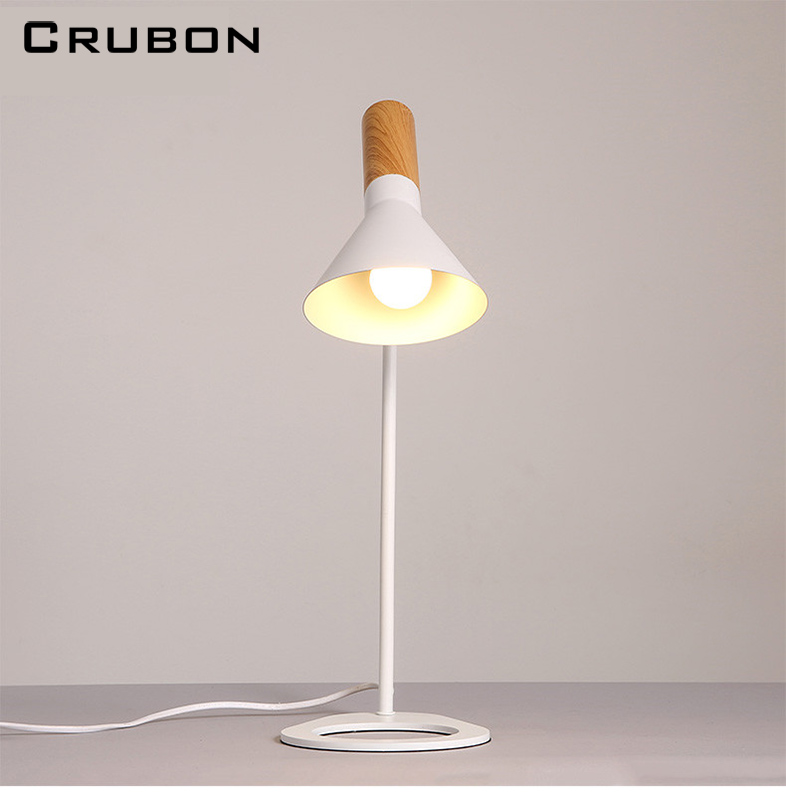 CRUBON New Replica Louis Poulsen Arne Jacobsen Black/white Table lamp Europe AJ Desk Lamp Cafe Aisle Hall read Lights