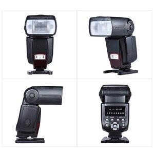 Image 5 - Andoer AD 560 השני אוניברסלי פלאש Speedlite מבזק w/Wireless פלאש טריגר עבור Canon ניקון אולימפוס Pentax DSLR מצלמות פלאש