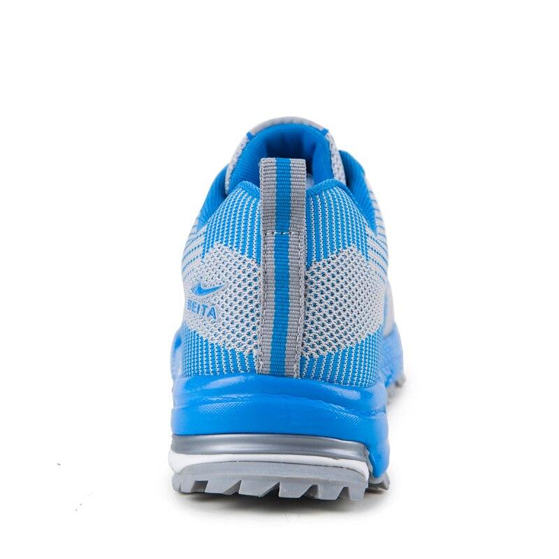 Sapatas Aumento azul Mens Corredor Linha Verão Tendências Elásticos Da De Dos verde Homens Voar Céu Casuais Malha Preto Ar Designer Respiráveis Sapatos Marca PqwRPrZ