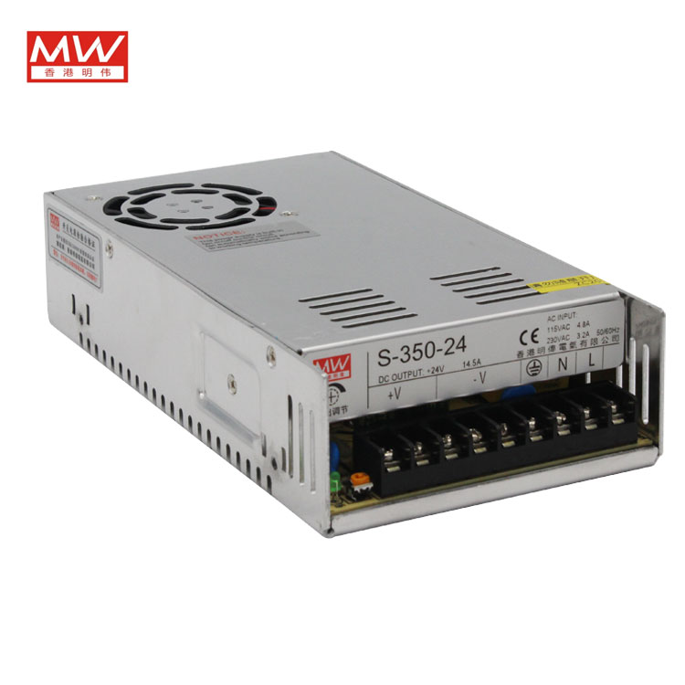 Original MW cnc router Power supply S 350W 24V 350W 24V 14.6A Switching Power Supply
