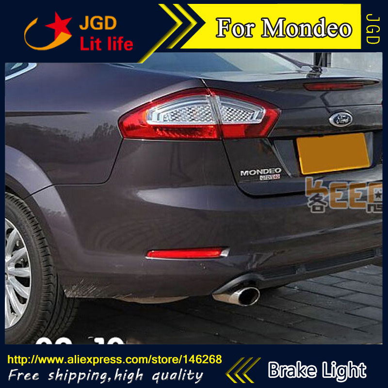 Free shipping Tail light parking warning rear bumper reflector for Ford Mondeo 2007-2010 Car styling aftermarket free shipping motorcycle parts eliminator tidy tail for 2006 2007 2008 fz6 fazer 2007 2008b lack