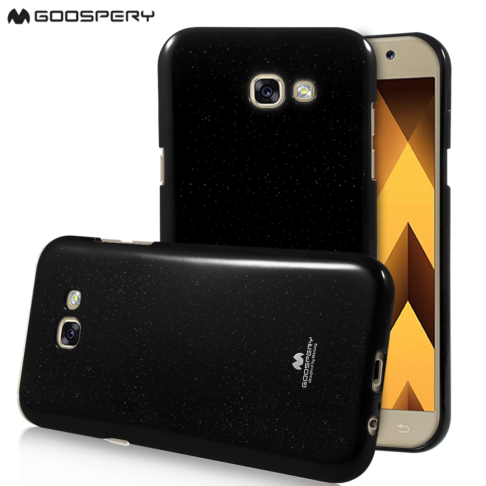 online retailer f75a4 eecfc US $3.99 |fundas capa coque for Galaxy A5 (2017) MERCURY GOOSPERY Glitter  Powder Jelly TPU Case for Samsung Galaxy A5 (2017) Black-in Fitted Cases ...