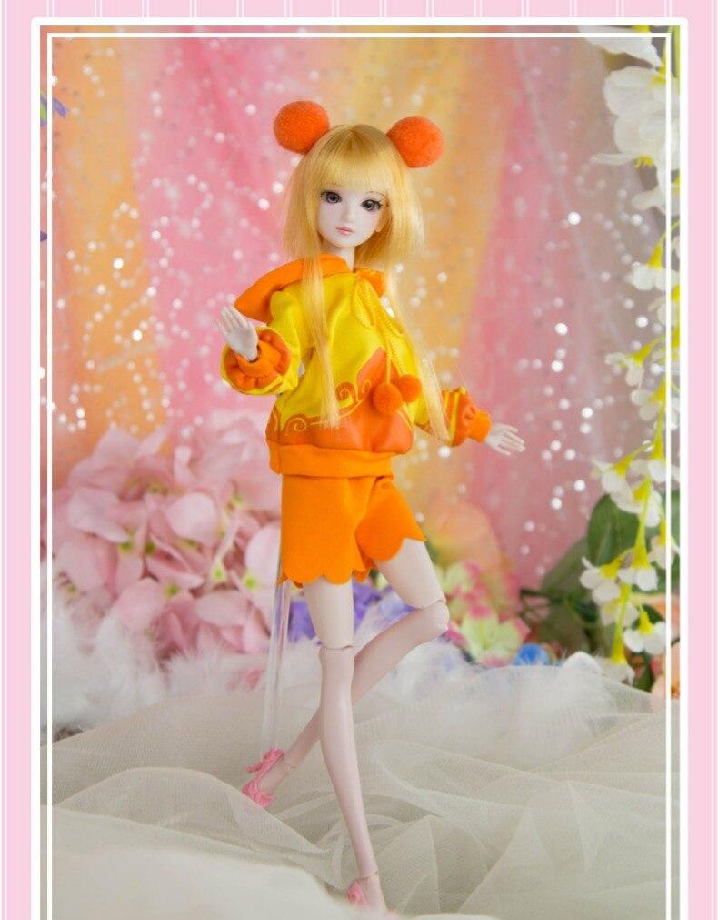 new arrival bjd 1/6 11'' BJD Doll 14 jointed dolls Princess Hair + Makeup + Cloth +shoes