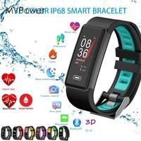 Bluetooth Wristband Remote Camera Touch Screen Sport Bluetooth Watch Multifunction Pedometer Smart Bracelet Waterproof