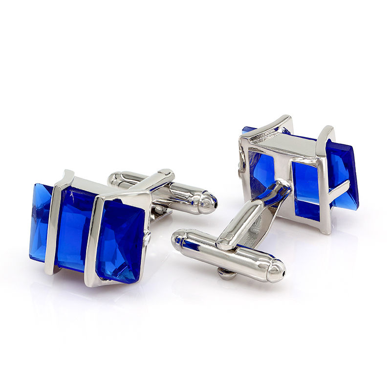 ᐃÓpalo azul gemelos hombres gemelos Camisas alta calidad groomsmen ...