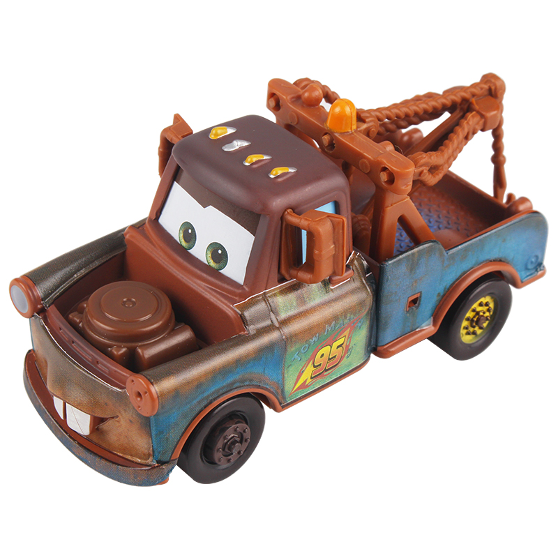 Disney Cartoon Pixar Cars 3 Mater 1:55 Diecast Brand Metal Alloy Toy Baby Boys Girls Kids Toys for Birthday Christmas Party Gift