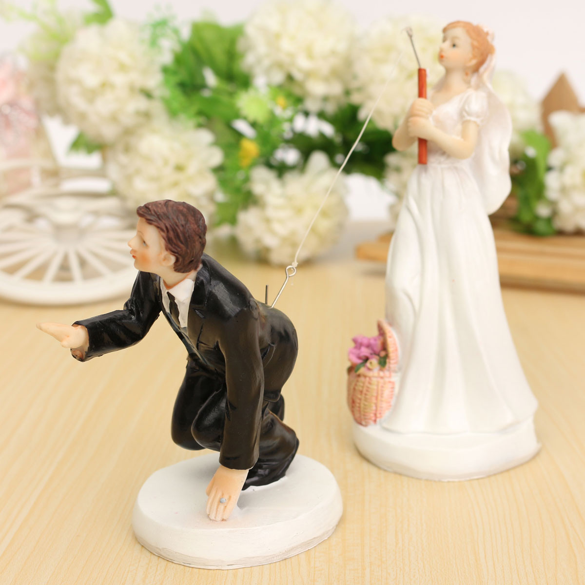 Wedding Cake Topper Bride Groom Mr Mrs Acrylic Black Cake Toppers ...