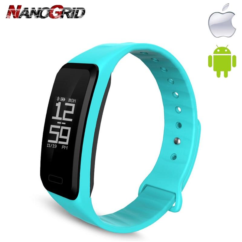 Orë e re Smart Hartslagmeter dhe Bluetooth Smart Watch Orari i - Ora për meshkuj