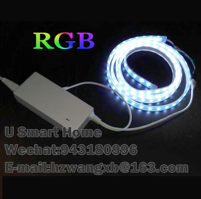 Zigbee LED Controller & RGB LED Strip Light 5m wireless