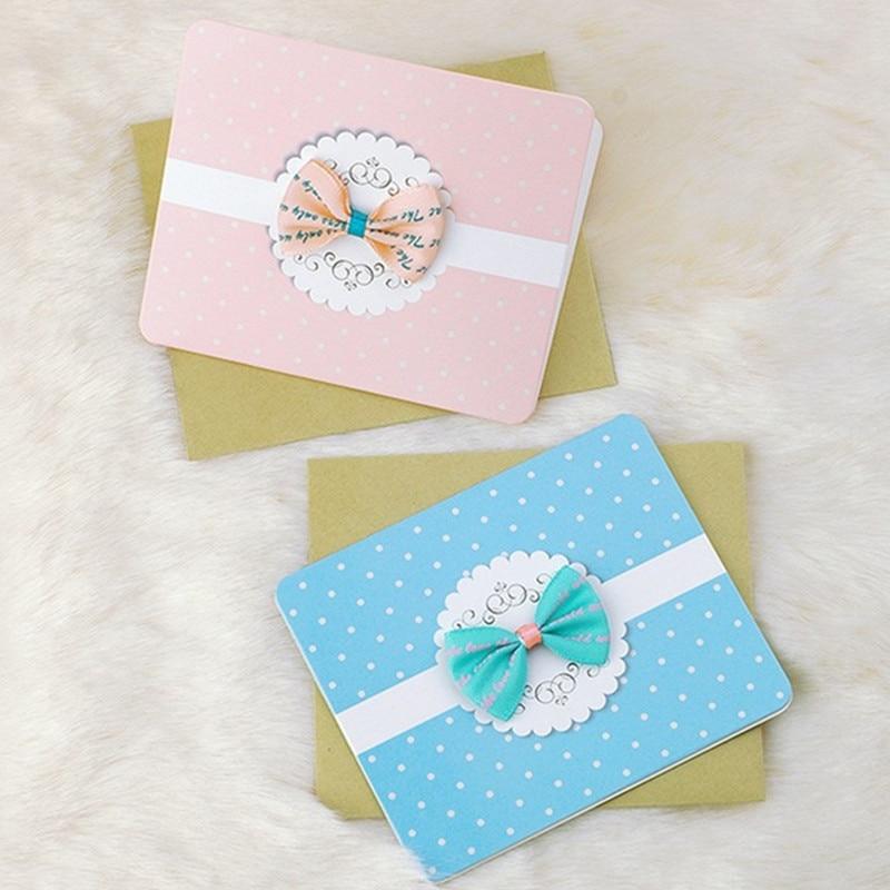 Weihnachten gruß postkarte 5 stücke bowknot mini geburtstagsgeschenk ...