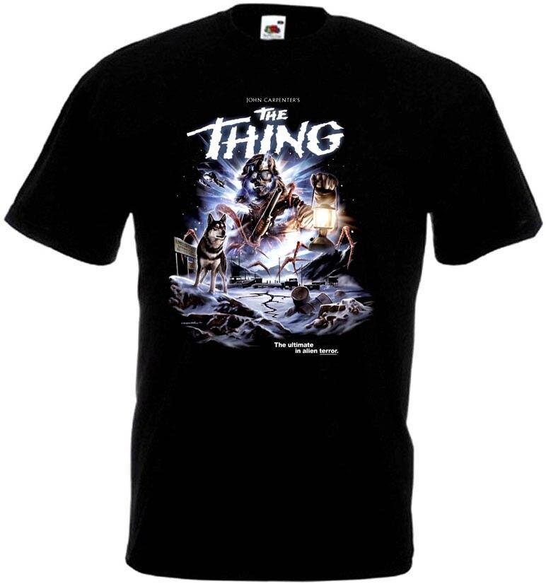 Have An Inquiring Mind The Thing 8 Movie Poster Mens Funny Tshirt Mens Streetwear T Shirt Gym King T Shirts Brand Tee Shirt Mens Fashion Clothing Nourishing Blood And Adjusting Spirit T-shirts Tops & Tees
