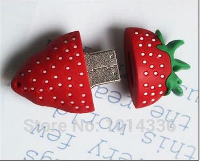 creative Pendrive cartoon usb flash drive Sweet strawberry model 8GB/16GB/32GB/ USB flash drive memory stick BB S546