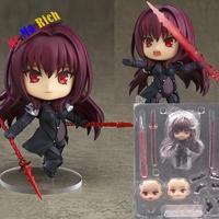 Nendoroid Fate Grande Ordine Lancer 743 Pvc Action Figure Lancer Scatach Da Collezione Model Toy Doll Regalo Di Natale