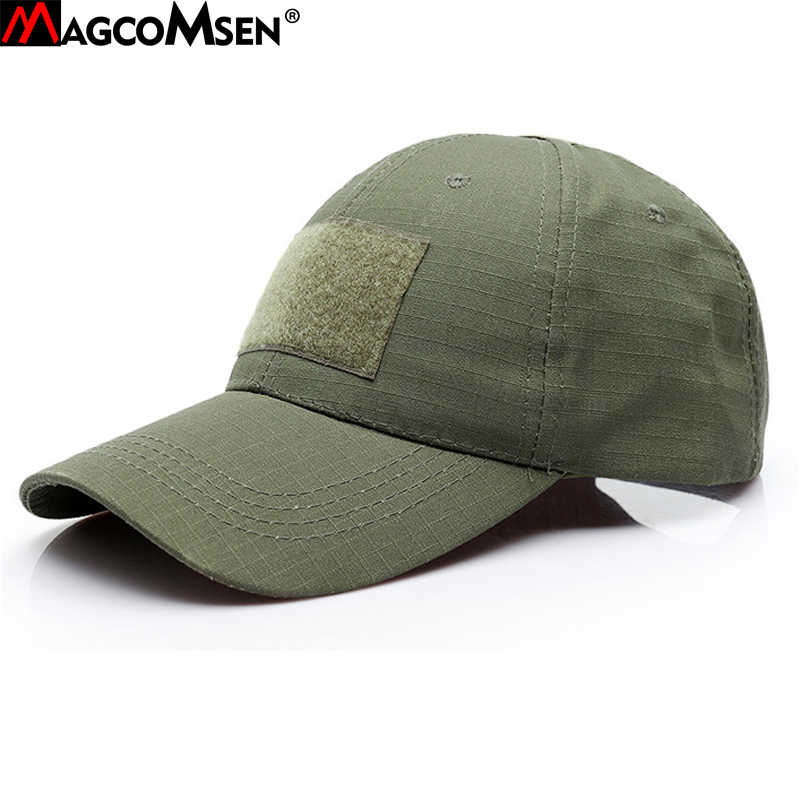 439d5112d7a511 MAGCOMSEN Military Hats Men Summer Camouflage Army Tactical Hats Adjustable Breathable  Men Unisex Snapback Caps Hat