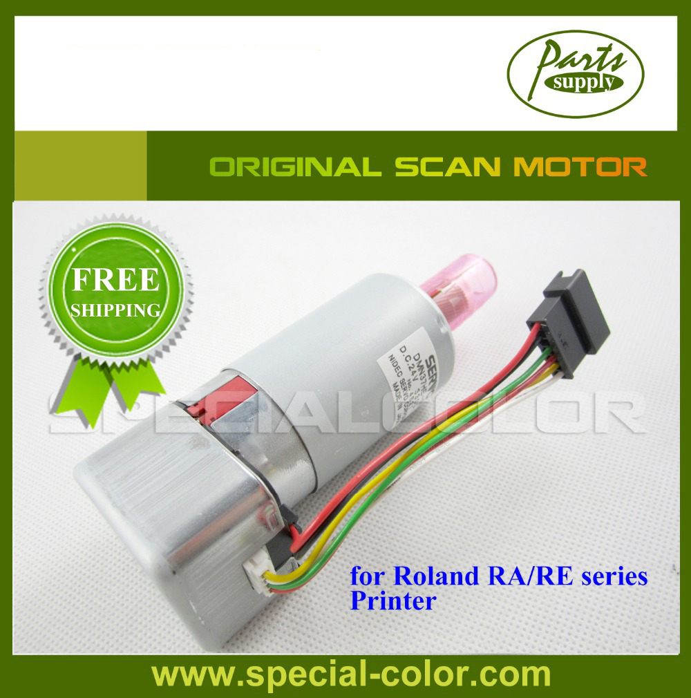 Roland DX7 Printer Scan Motor for RA/RE 640 Original feed motor board for roland rs 640